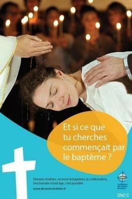 catéchuménat baptême confirmation adultes
