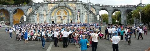 pèlerinage diocésain Lourdes 2017